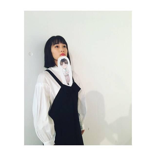 """広瀬すず on Instagram: """"伊藤先生ちっちゃくなってました#先生!  #好きになってもいいですか"""" (577233)"""