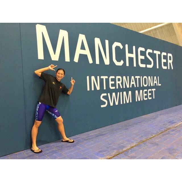 "Rikako Ikee on Instagram: ""*Thank you Manchester 😘😘100Fly 55.97🥇50Ba 27.59🥇#manchester #swimmeet #mizuno#gxsonic3"" (590671)"
