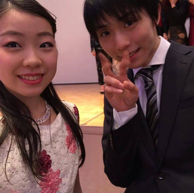 "Rika Kihira 紀平梨花 on Instagram: ""🤩✨#yuzuruhanyu"" (680831)"