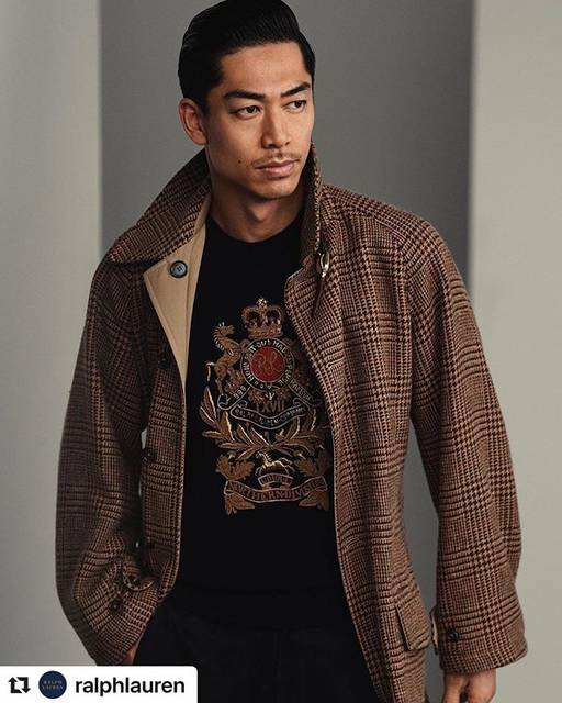 """MillionDollarExperience1984 on Instagram: """"#Repost @ralphlauren with @make_repost ・・・ Honoring an iconic heritage through the spirit of modern style.  #ExileAkira in a reversible…"""" (697643)"""