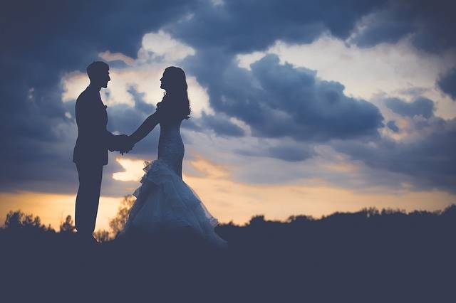Couple Wedding Dawn · Free photo on Pixabay (16653)