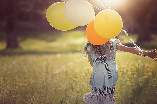 Girl Balloons Child · Free photo on Pixabay (28061)