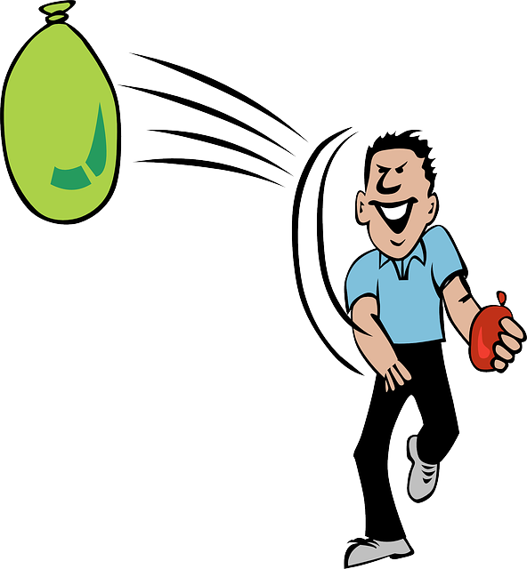 Water Balloon Throwing Activities · Free vector graphic on Pixabay (47690)
