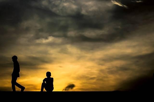 Sunset Boys Sky Going · Free photo on Pixabay (53792)