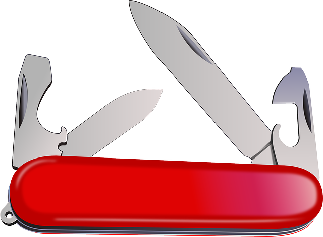Knife Portable Swiss · Free vector graphic on Pixabay (56313)