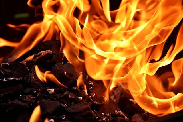 Fire Flame Carbon · Free photo on Pixabay (57749)