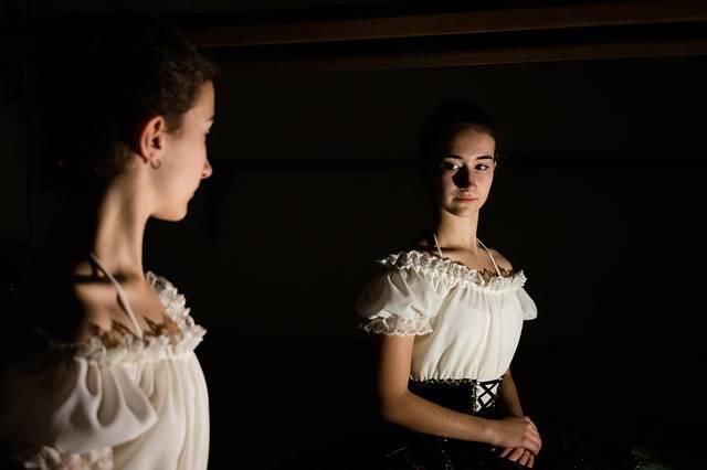 Ballerina Mirror Shadows · Free photo on Pixabay (57910)