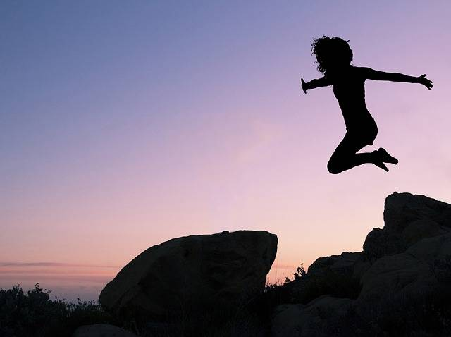 Girl Leaping Rock Off · Free photo on Pixabay (59384)