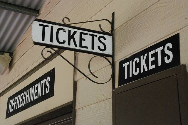 Tickets Booth Sign · Free photo on Pixabay (64067)