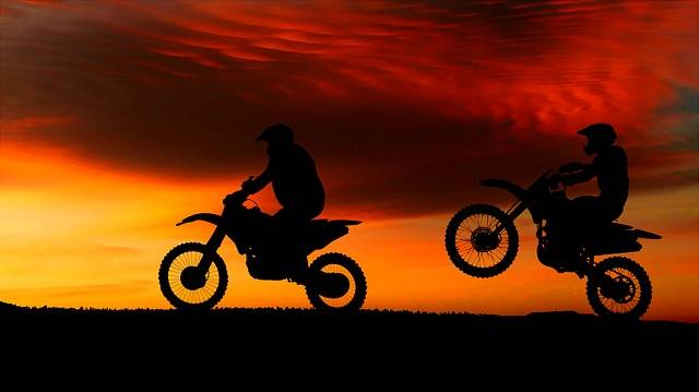 Sunset Motorcycles Transport · Free image on Pixabay (73698)
