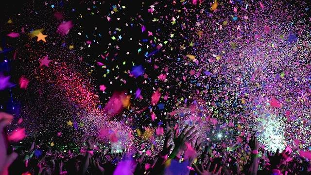 Concert Confetti Party - Free photo on Pixabay (77237)