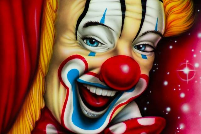 Clown Circus Painting - Free photo on Pixabay (78363)
