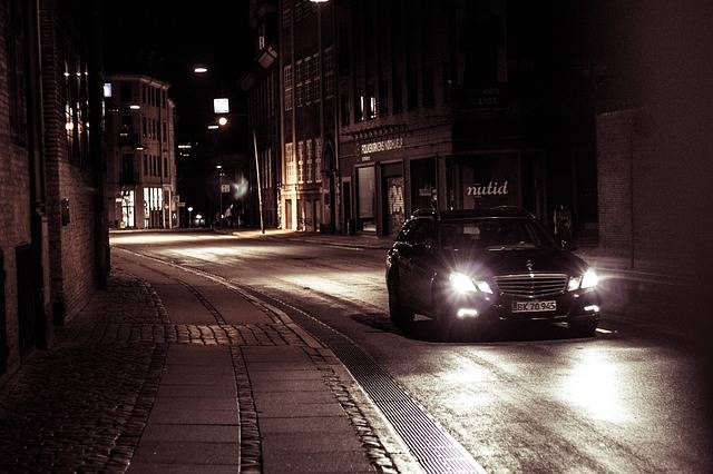 Car Night Copenhagen - Free photo on Pixabay (81622)