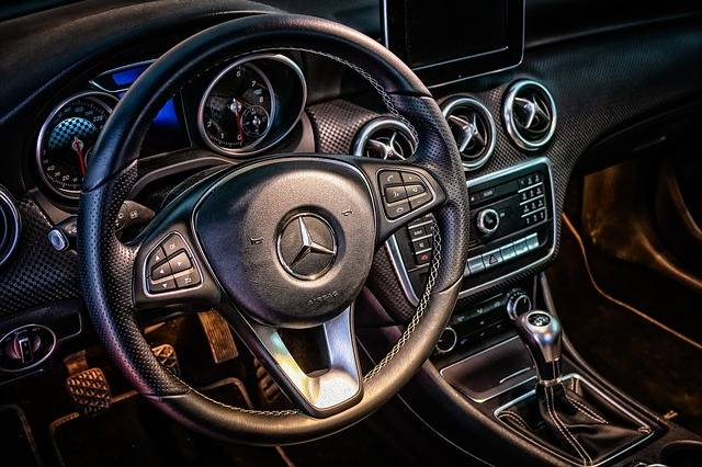Mercedes Cockpit Interior - Free photo on Pixabay (84574)