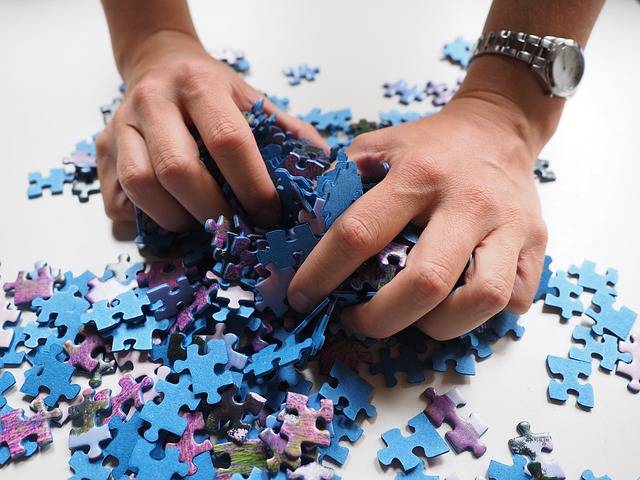 Pieces Of The Puzzle Mix Hands - Free photo on Pixabay (84977)