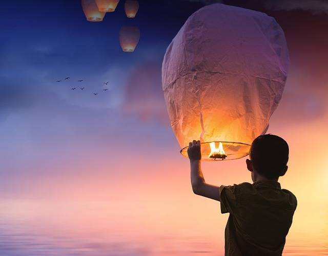 Balloon Chinese Lanterns Lantern - Free photo on Pixabay (88689)