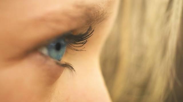 Eye Girl Blue - Free photo on Pixabay (89277)