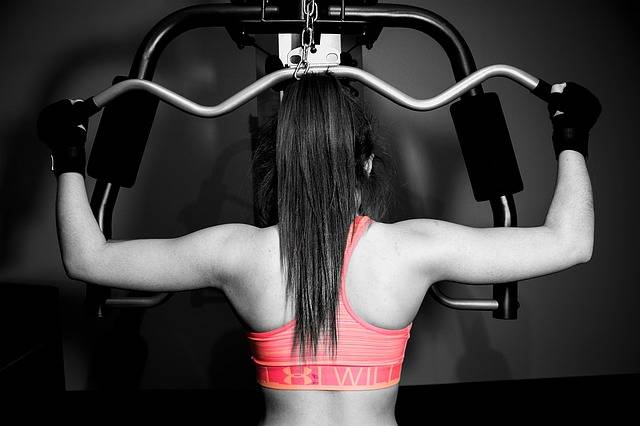 Workout Girl Weights - Free photo on Pixabay (90963)