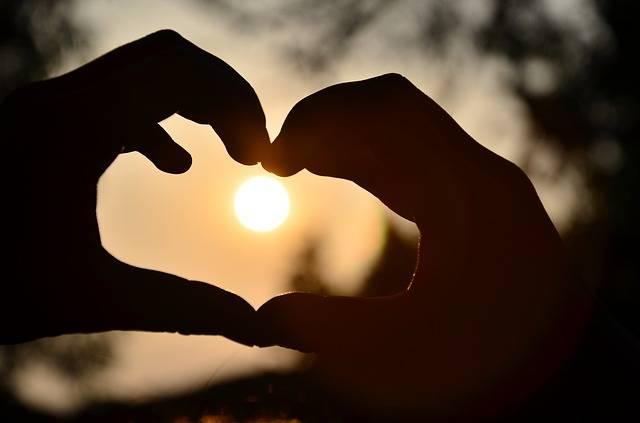 Heart Warm Light And Shadow - Free photo on Pixabay (93760)