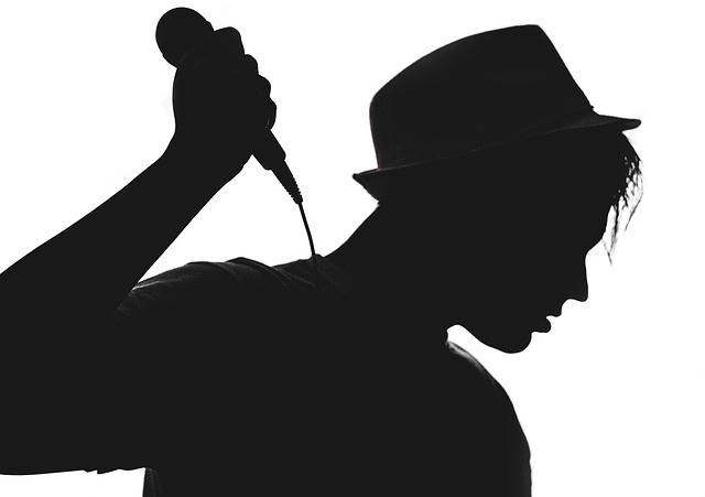Silhouette Musician Vocalist - Free photo on Pixabay (95115)