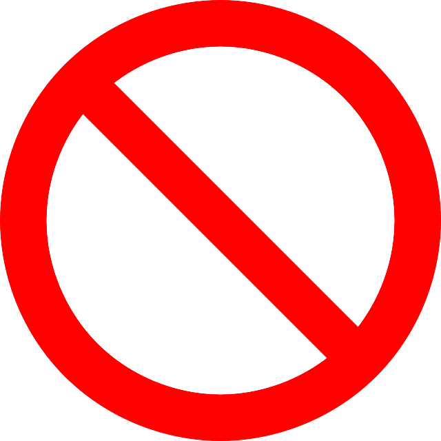 No Symbol Prohibition Sign - Free vector graphic on Pixabay (98394)