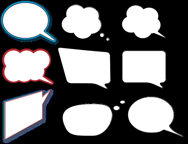 Balloons Comic Talk - Free vector graphic on Pixabay (100457)