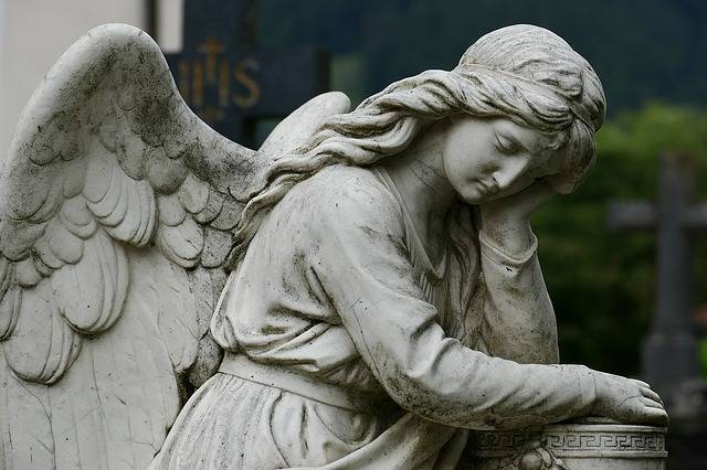 Angel Cemetery Sculpture Rock - Free photo on Pixabay (101401)
