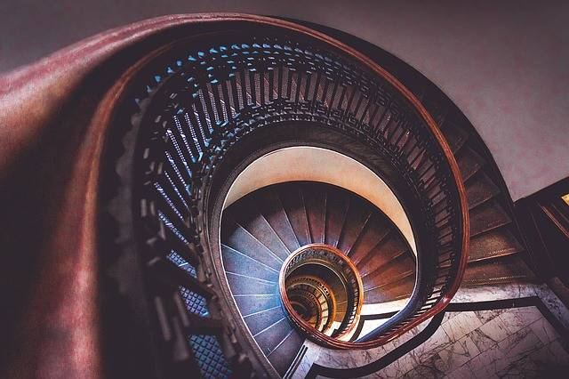 Stairs Spiral Staircase - Free photo on Pixabay (102346)