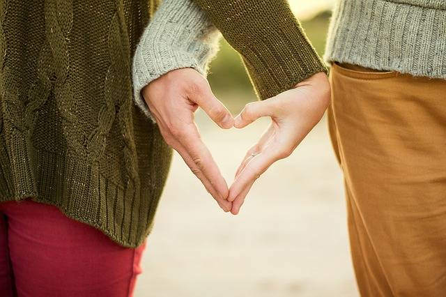 Hands Heart Couple - Free photo on Pixabay (104793)