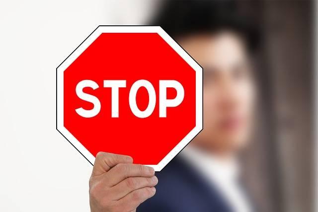 Businessman Mockup Stop - Free photo on Pixabay (104988)
