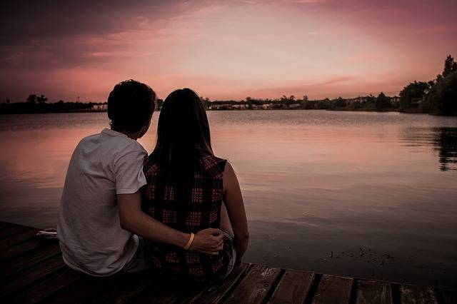 Couple Love Romance Sunset - Free photo on Pixabay (106069)