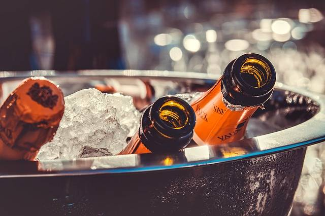 Champagne Bottles Ice - Free photo on Pixabay (108500)