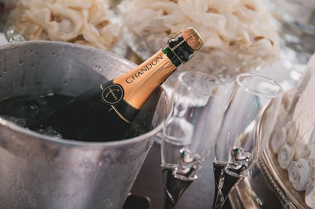 Champagne Chandon Bride - Free photo on Pixabay (111234)