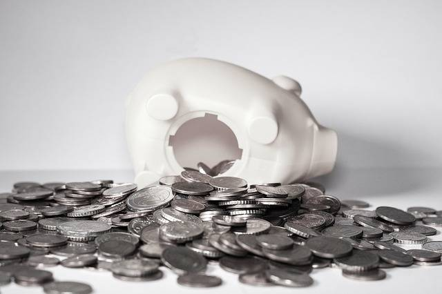 Money Piggy Bank Coins - Free photo on Pixabay (111300)