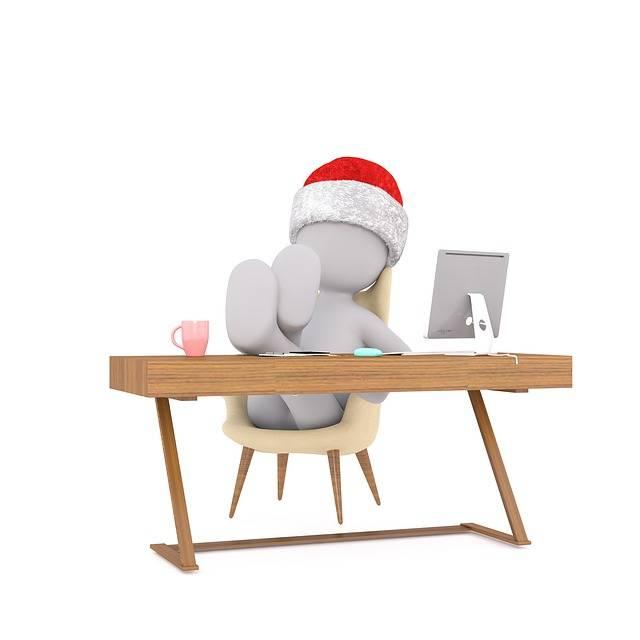 Christmas Work Figure - Free image on Pixabay (113965)