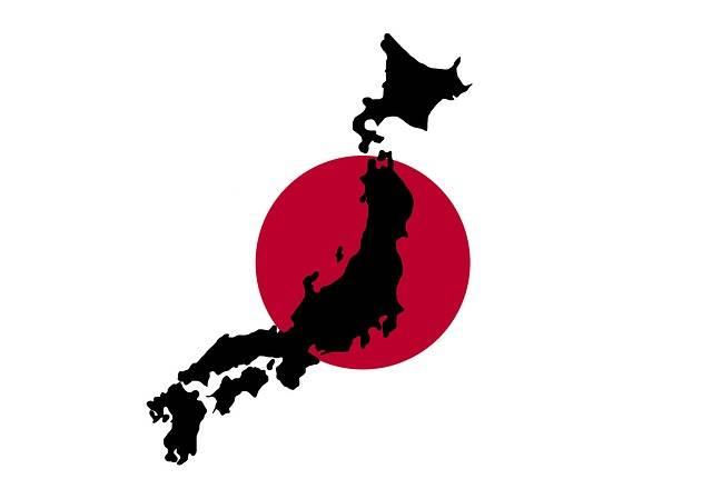 Japan Japanese Map - Free image on Pixabay (118197)