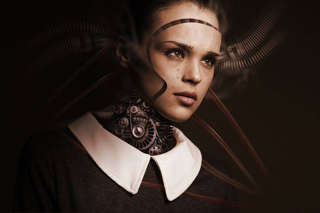 Robot Woman Face - Free photo on Pixabay (123727)