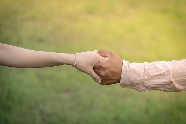 Hands Hand In Wedding - Free photo on Pixabay (124089)