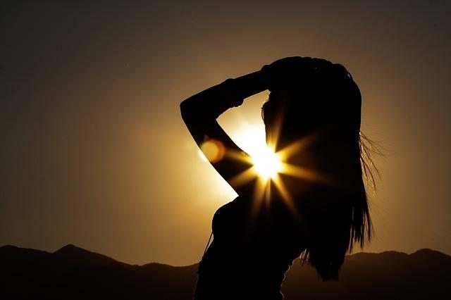 Silhouette Woman Girl - Free photo on Pixabay (129126)