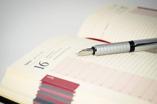 Notebook Fountain Pens Pen - Free photo on Pixabay (129921)
