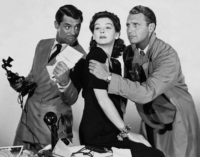Cary Grant Rosalind Russell Ralph - Free photo on Pixabay (131617)
