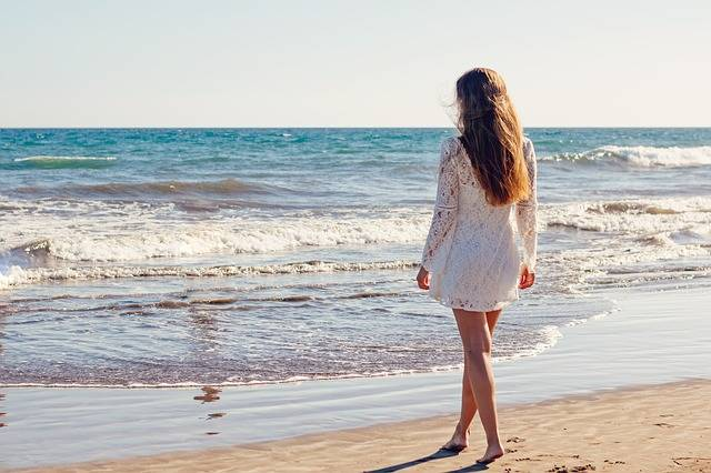 Young Woman Sea - Free photo on Pixabay (135002)