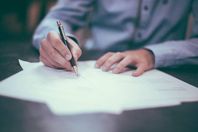 Writing Pen Man - Free photo on Pixabay (137415)