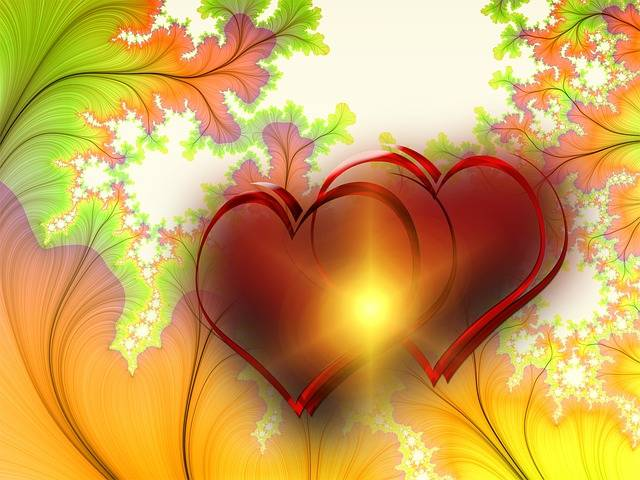 Heart Pair Lovers - Free image on Pixabay (140368)