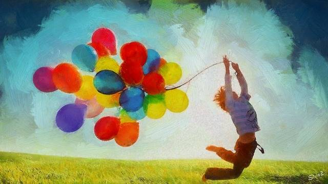 Balloons Spring Nature - Free image on Pixabay (142926)