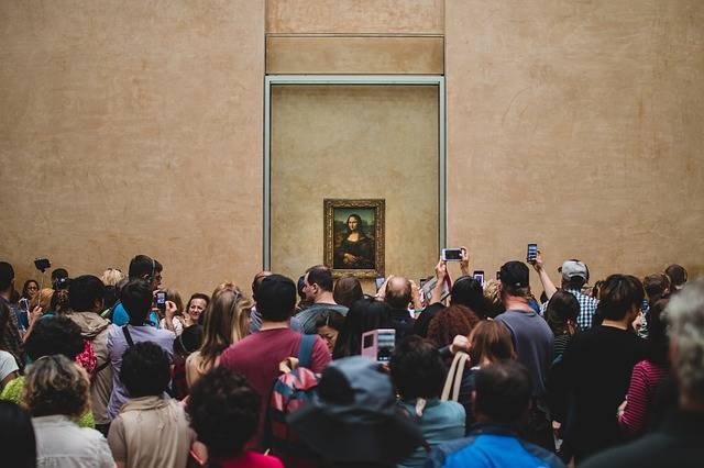 Da Vinci Louvre Monalisa - Free photo on Pixabay (143457)