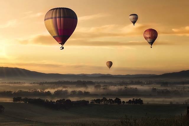 Hot Air Ballons Balloons Flying - Free photo on Pixabay (149073)