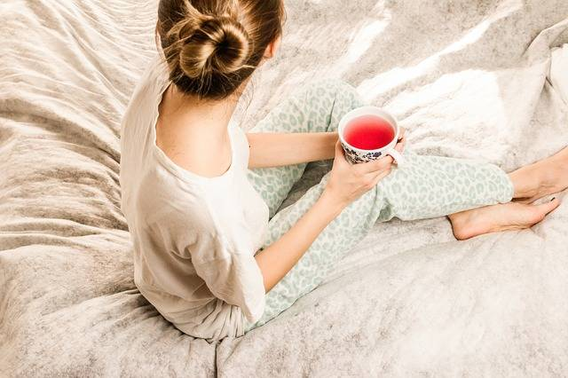 Morning Girl Woman Bed - Free photo on Pixabay (150545)