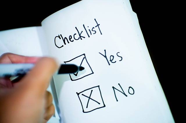Checklist Check Yes Or No Decision - Free photo on Pixabay (152722)