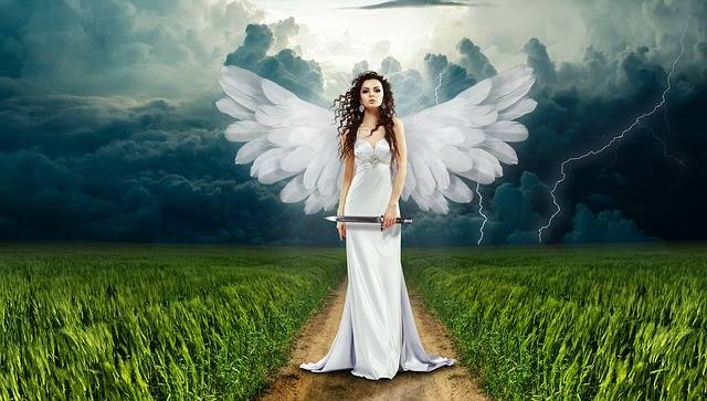 Angel Nature Clouds - Free photo on Pixabay (153983)